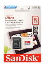 SanDisk Ultra 16GB A1-App-Rated Micro SDHC for Samsung Tablets & Other Android