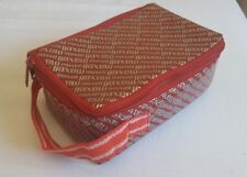Maxell audio cassette carrying bag/pouch. 80's/90's. Red.