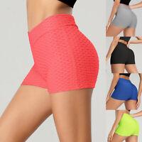 Women Yoga Shorts Sport Push up High Waist Gym Fitness Shaper Pants Butt Lifter