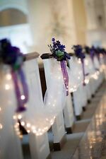 120 feet Table Chair Swags Sheer Tulle Fabric DIY Wedding Party Decoration