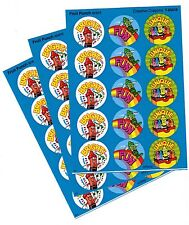 3 sheets Fruit Punch Scented Scratch n Sniff Stickers! 45 Stickers! TREND
