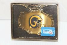 Metal Belt Buckle Raintree - L.A. St Louis Rams Official Team NFL Football