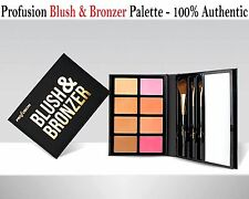 Profusion BLUSH & BRONZER Palette- 4 blush colors, 2 highlighters & 2 bronzers