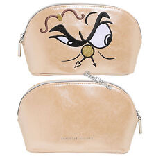 Disney Beauty And The Beast Cogsworth Cosmetic Bag Licensed Danielle Nicole NEW