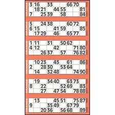 48000 Bingo Tickets 6 to View Flyers Singles Quickies Mixed Colours