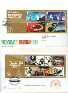 GB 2011-2012 FIRST DAY COVERS ISSUED BETWEEN THOSE DATES + POST & GO.  FDC'S