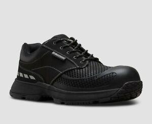 Dr Martens Men's Shoes Calamus Lo Safety Work Boots Lace Up Unisex Adults -BLACK