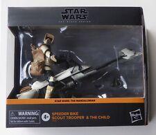 "star wars SPEEDER BIKE HOTH BIKER SCOUT TROOPER ACTION FIGURE 3.75/"" hasbro 0352"