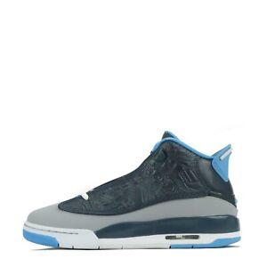 Junior Air Jordan Dub Zero Youth Trainers Shoes Wolf Grey