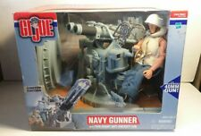 G.I. Joe 1/6 Navy Gunner with Twin Mount Anti- Gun  - NIB