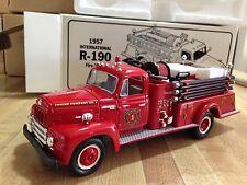 First Gear Diecast 1957 International R-190 Fire Truck 1/34 scale