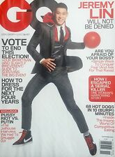 Jeremy Lin (November 2012) No Label Gentlemen's Quarterly GQ Magazine