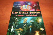 PAR LINDH PROJECT In concert - live in Poland !!! CD+DVD METAL MIND PROD SUPER