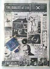 FAST PRODUCT THE QUALITY OF LIFE UK 1978 orig DIY PUNK fanzine package VERY RARE