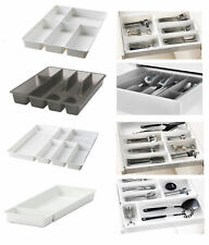 IKEA Kitchen Cutlery Holder Storage Rack Various Utensil Tray Plastic Partition