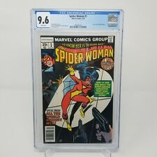 Spider-woman #1 CGC 9.6 NM  NEW ORIGIN 1978 1st series WHITE pages