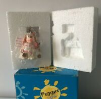 PIGGIN Figurine 14252 SNOWED UNDER David Corbridge 2006 Winter Xmas Rare BOXED