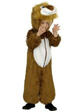Kids Zoo Animal Cute Lion Girls / Boys Fancy Dress Costume Party Outfit