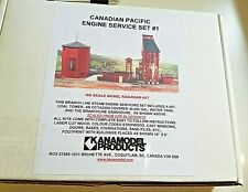 HO Kanamodel Products Canadian Pacific Engine Service Set #1