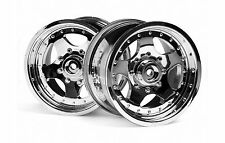 AR-5 Chrome Wheel 1:8 Savage HPI 82001