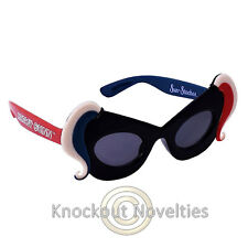 Sun-Staches Kids - Harley Quinn Funny Novelty Silly Sunglasses Sun Glasses Gift