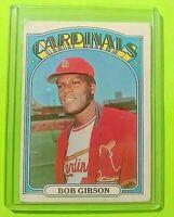 1972 Topps #130 Bob Gibson Cardinals (VG/EX)