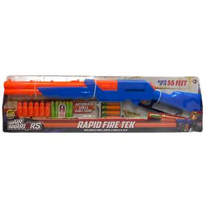 Air Warriors Blaster Rapid Fire Tek Compatible Foam Gun Rifle Lever Action Buzz