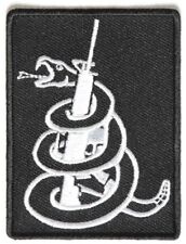 Snake Wrapped around Machine Gun Patch - By Ivamis Trading - 2.25x3 inch P4090
