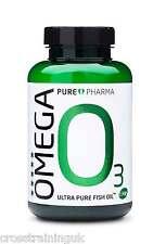 PURE Pharma Omega 3 ULTRA PURO OLIO DI PESCE puori purepharma O3