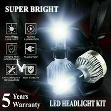Combo LED Headlight Bulbs Kit H3 1200W 223000LM 6000K White Foglight Lamp Pair