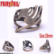 FAIRY TAIL Guild LOGO Ring Hollow Brozen Metal Jewelry New Otaku Gift