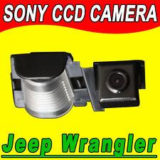 Sony CCD Jeep Wrangler auto radio gps car reverse rear view camera backup Kamera