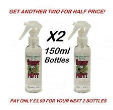 More details for dog perfume 2x 150ml bottles cologne fragrance pet professional spray grooming