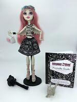Monster High 1st Wave Rochelle Goyle Doll Pet Handbag Diary VGC Free P&P