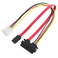 15 Pin SATA Male to Molex IDE 4 Pin Female Power Adapter Extension Cable useful
