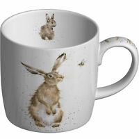New Fine China Royal Worcester Mug -Wrendale/Portmerion Mug- Hare & Bee