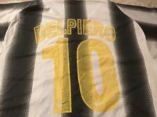 Del piero #10 Sports  Jersy Shirt SZ M/L.