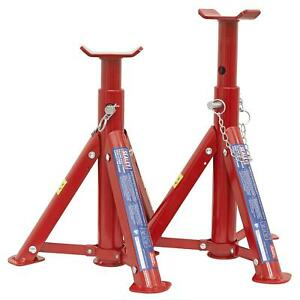 Sealey Axle Stands 2tonne Capacity Per Stand 4tonne Per Pair Tuv/Gs Axel Stand