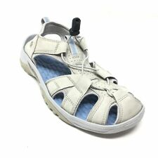 Women's Privo by Clarks Slingback Sandals Shoes Size 8.5 Beige Leather G12