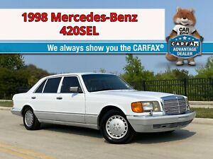 1989 Mercedes-Benz S-Class 420SEL! W126! Texas Zero Rust! 3-Day NO RESERVE!