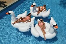 Giant Flamingo Inflatable Pool Toy Kids Water Float Raft Ride On Summer Fun
