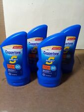 4 x Coppertone Sports Sunscreen Spf 30 Lotion 3 oz Brand New