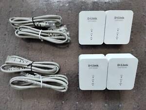 D-Link DHP-601AV PowerLine AV2 1000Mbps Adapter: 1 piece only