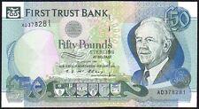 1994 First Trust Bank billete de 50 EUR * ad 378281 * * AUNC
