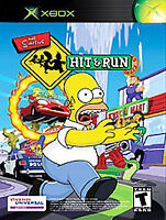 Simpsons: Hit & Run (Microsoft Xbox, 2003) Black Label Game Disc Only
