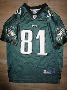 Terrell Owens #81 Philadelphia Eagles Super Bowl NFL Jersey Youth L 14-16 child