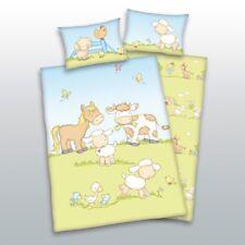 Herding Baby Bettwäsche Jana Bauernhoftiere 100 x 135 cm