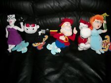New ListingRocky and Bullwinkle Set of Five Cvs Beanbag Plush Dolls toys & tags years 2000