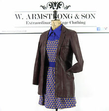 Hip Length Leather None Casual Coats & Jackets for Women