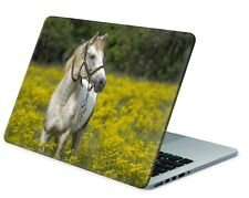 Universal Laptop Skin Notebook Netbook MacBook Aufkleber Sticker Pferd Wiese